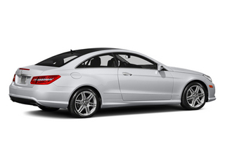 Polar White 2013 Mercedes-Benz E-Class Pictures E-Class Coupe 2D E550 photos rear view