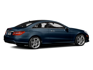 Lunar Blue Metallic 2013 Mercedes-Benz E-Class Pictures E-Class Coupe 2D E550 photos rear view