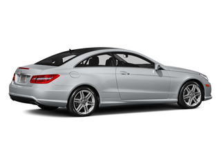 Diamond Silver Metallic 2013 Mercedes-Benz E-Class Pictures E-Class Coupe 2D E550 photos rear view