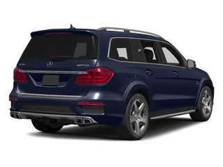 Lunar Blue Metallic 2013 Mercedes-Benz GL-Class Pictures GL-Class Utility 4D GL63 AMG 4WD photos rear view