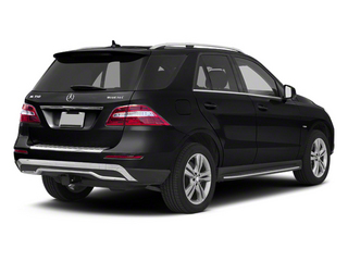 Black 2013 Mercedes-Benz M-Class Pictures M-Class Utility 4D ML350 BlueTEC AWD photos rear view
