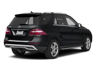 Steel Grey Metallic 2013 Mercedes-Benz M-Class Pictures M-Class Utility 4D ML350 BlueTEC AWD photos rear view