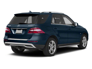 Lunar Blue Metallic 2013 Mercedes-Benz M-Class Pictures M-Class Utility 4D ML350 BlueTEC AWD photos rear view