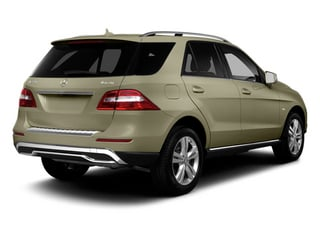 Pearl Beige Metallic 2013 Mercedes-Benz M-Class Pictures M-Class Utility 4D ML350 AWD photos rear view