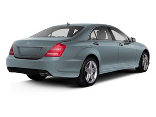 Andorite Grey Metallic 2013 Mercedes-Benz S-Class Pictures S-Class Sedan 4D S400 Hybrid photos rear view