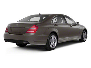 Palladium Silver Metallic 2013 Mercedes-Benz S-Class Pictures S-Class Sedan 4D S400 Hybrid photos rear view