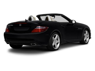 Black 2013 Mercedes-Benz SLK-Class Pictures SLK-Class Roadster 2D SLK350 photos rear view