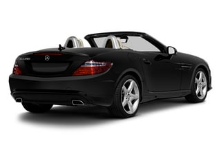 Obsidian Black Metallic 2013 Mercedes-Benz SLK-Class Pictures SLK-Class Roadster 2D SLK350 photos rear view