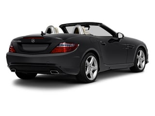 Steel Grey Metallic 2013 Mercedes-Benz SLK-Class Pictures SLK-Class Roadster 2D SLK350 photos rear view