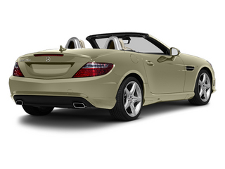 Pearl Beige Metallic 2013 Mercedes-Benz SLK-Class Pictures SLK-Class Roadster 2D SLK55 AMG photos rear view
