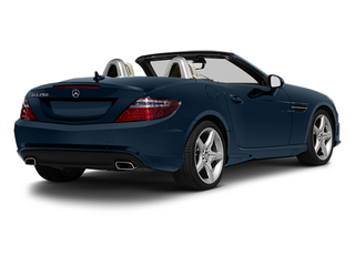 Lunar Blue Metallic 2013 Mercedes-Benz SLK-Class Pictures SLK-Class Roadster 2D SLK350 photos rear view
