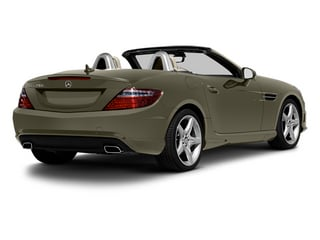Indium Grey Metallic 2013 Mercedes-Benz SLK-Class Pictures SLK-Class Roadster 2D SLK350 photos rear view