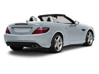 Silver Mist Metallic 2013 Mercedes-Benz SLK-Class Pictures SLK-Class Roadster 2D SLK350 photos rear view