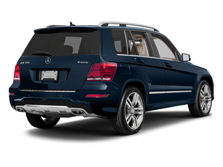 Lunar Blue Metallic 2013 Mercedes-Benz GLK-Class Pictures GLK-Class Utility 4D GLK350 AWD photos rear view