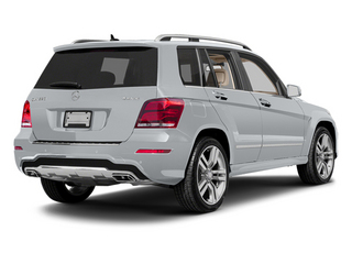 Diamond Silver Metallic 2013 Mercedes-Benz GLK-Class Pictures GLK-Class Utility 4D GLK350 AWD photos rear view