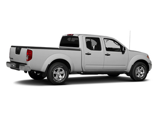 Brilliant Silver 2013 Nissan Frontier Pictures Frontier Crew Cab S 4WD photos rear view