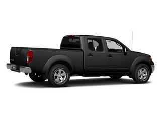 Super Black 2013 Nissan Frontier Pictures Frontier Crew Cab S 4WD photos rear view