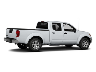 Glacier White 2013 Nissan Frontier Pictures Frontier Crew Cab S 4WD photos rear view