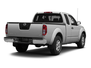 Brilliant Silver 2013 Nissan Frontier Pictures Frontier King Cab SV 2WD photos rear view