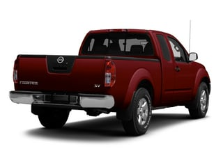 Cayenne Red 2013 Nissan Frontier Pictures Frontier King Cab SV 2WD photos rear view