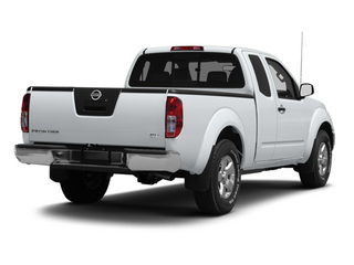 Glacier White 2013 Nissan Frontier Pictures Frontier King Cab SV 2WD photos rear view