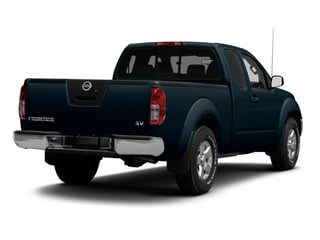 Graphite Blue 2013 Nissan Frontier Pictures Frontier King Cab SV 2WD photos rear view