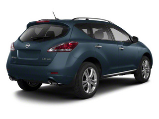 Graphite Blue 2013 Nissan Murano Pictures Murano Utility 4D SL 2WD V6 photos rear view