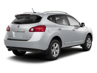Brilliant Silver 2013 Nissan Rogue Pictures Rogue Utility 4D S 2WD I4 photos rear view