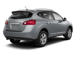 Platinum Graphite 2013 Nissan Rogue Pictures Rogue Utility 4D S 2WD I4 photos rear view