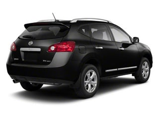 Super Black 2013 Nissan Rogue Pictures Rogue Utility 4D S 2WD I4 photos rear view