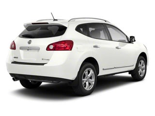 Pearl White 2013 Nissan Rogue Pictures Rogue Utility 4D S 2WD I4 photos rear view