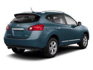 Graphite Blue 2013 Nissan Rogue Pictures Rogue Utility 4D S 2WD I4 photos rear view