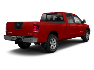 Cayenne Red 2013 Nissan Titan Pictures Titan Crew Cab S 2WD photos rear view
