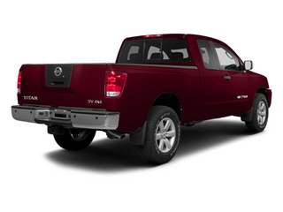 Cayenne Red 2013 Nissan Titan Pictures Titan King Cab SV 2WD photos rear view