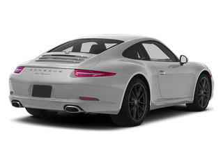 Platinum Silver Metallic 2013 Porsche 911 Pictures 911 Coupe 2D H6 photos rear view
