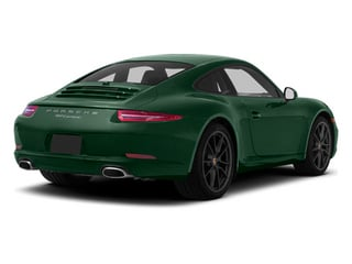 Porsche Racing Green Metallic 2013 Porsche 911 Pictures 911 Coupe 2D H6 photos rear view