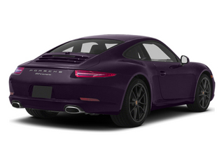 Amethyst Metallic 2013 Porsche 911 Pictures 911 Coupe 2D H6 photos rear view