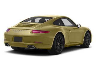 Lime Gold Metallic 2013 Porsche 911 Pictures 911 Coupe 2D H6 photos rear view