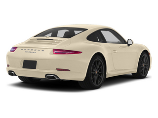 Cream White 2013 Porsche 911 Pictures 911 Coupe 2D H6 photos rear view