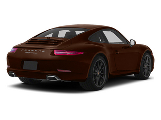 Mahogany Metallic 2013 Porsche 911 Pictures 911 Coupe 2D H6 photos rear view