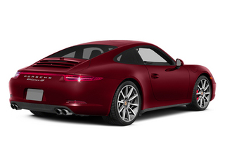 Ruby Red Metallic 2013 Porsche 911 Pictures 911 Coupe 2D 4 AWD H6 photos rear view