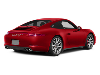 Guards Red 2013 Porsche 911 Pictures 911 Coupe 2D 4 AWD H6 photos rear view