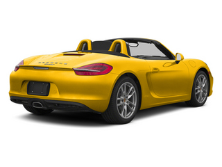 Racing Yellow 2013 Porsche Boxster Pictures Boxster Roadster 2D photos rear view