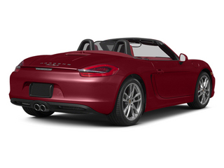 Amaranth Red Metallic 2013 Porsche Boxster Pictures Boxster Roadster 2D S photos rear view