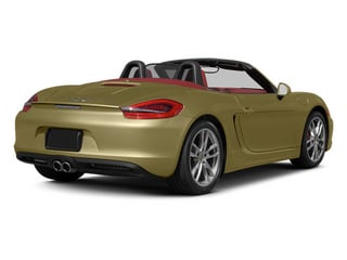 Lime Gold Metallic 2013 Porsche Boxster Pictures Boxster Roadster 2D S photos rear view