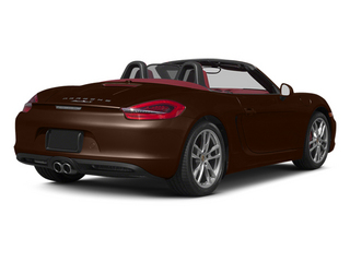 Mahogany Metallic 2013 Porsche Boxster Pictures Boxster Roadster 2D S photos rear view