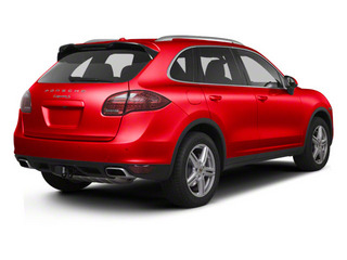 Carmine Red 2013 Porsche Cayenne Pictures Cayenne Utility 4D AWD (V6) photos rear view