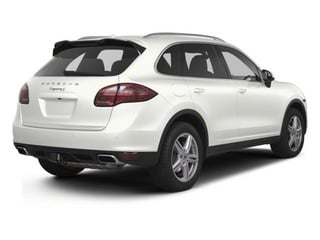 White 2013 Porsche Cayenne Pictures Cayenne Utility 4D S AWD (V8) photos rear view