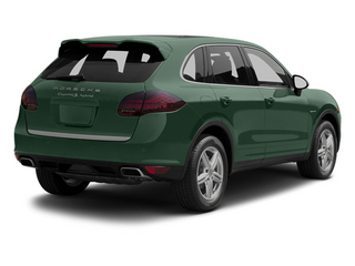 Jet Green Metallic 2013 Porsche Cayenne Pictures Cayenne Utility 4D S Hybrid AWD (V6) photos rear view