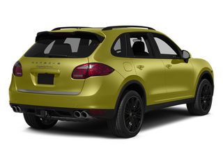 Peridot Metallic 2013 Porsche Cayenne Pictures Cayenne Utility 4D Turbo AWD (V8) photos rear view